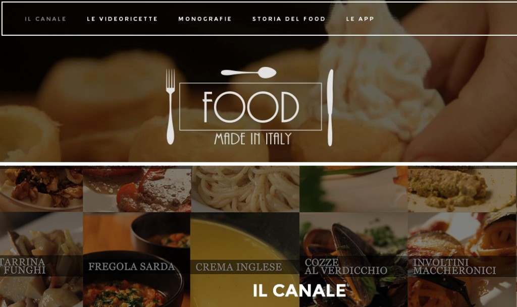 Food made in Italy